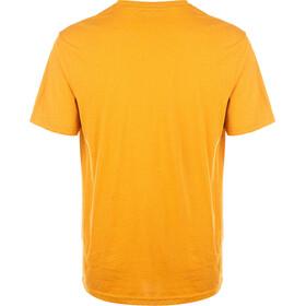 North Bend Garfield Short Sleeve Tee Men, geel